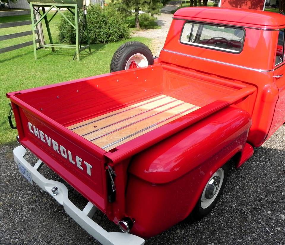 1955 chevy pickup bed