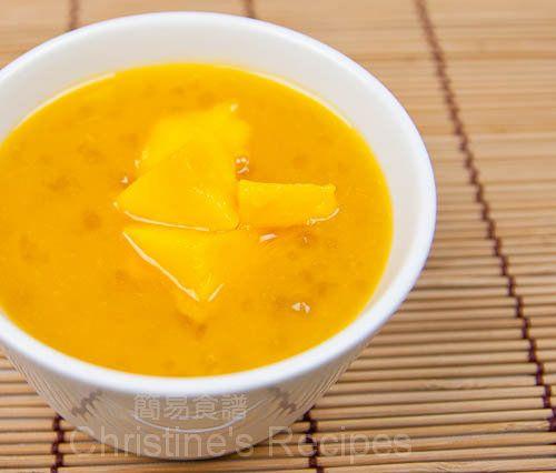 Mango & Tapioca Pearls Dessert (Happy Australia Day) - Christine's Recipes: Easy Chinese Recipes | Easy Recipes
