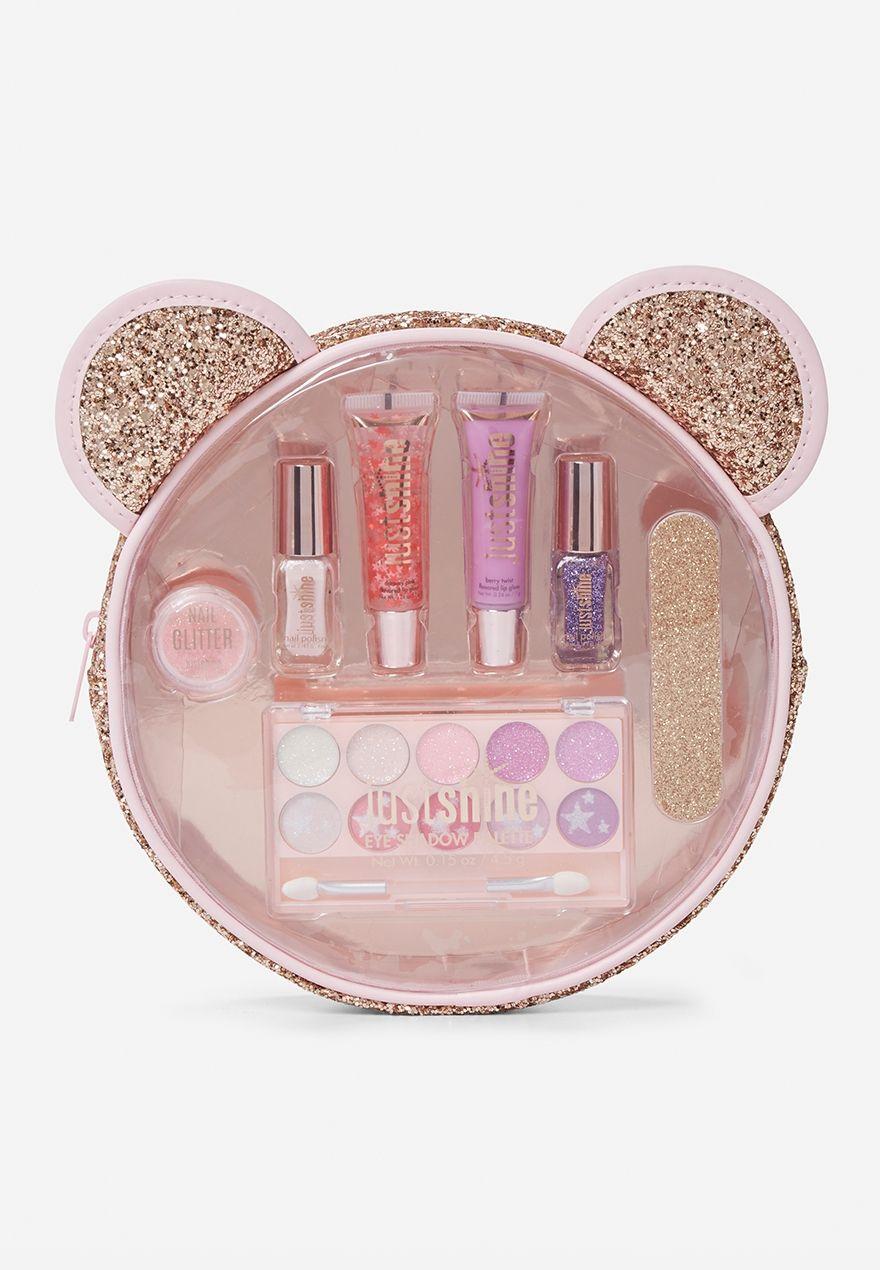 Rose Gold Critter Beauty Kit Original Price 19 90 Available At Justice Kids Makeup Makeup Kit For Kids Beauty Kit