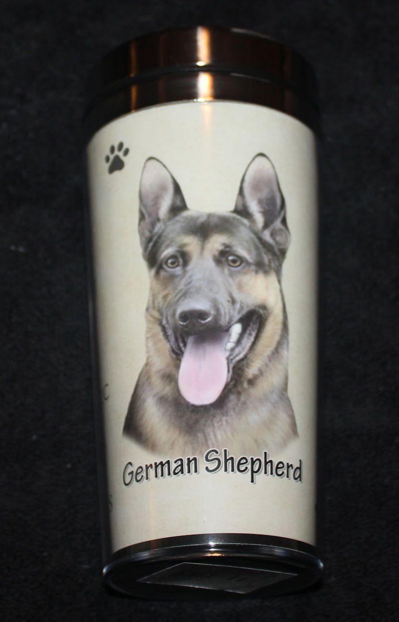German Shepherd Stainless Steel Travel Tumbler Germanshepherd German Shepherd Shepherd German