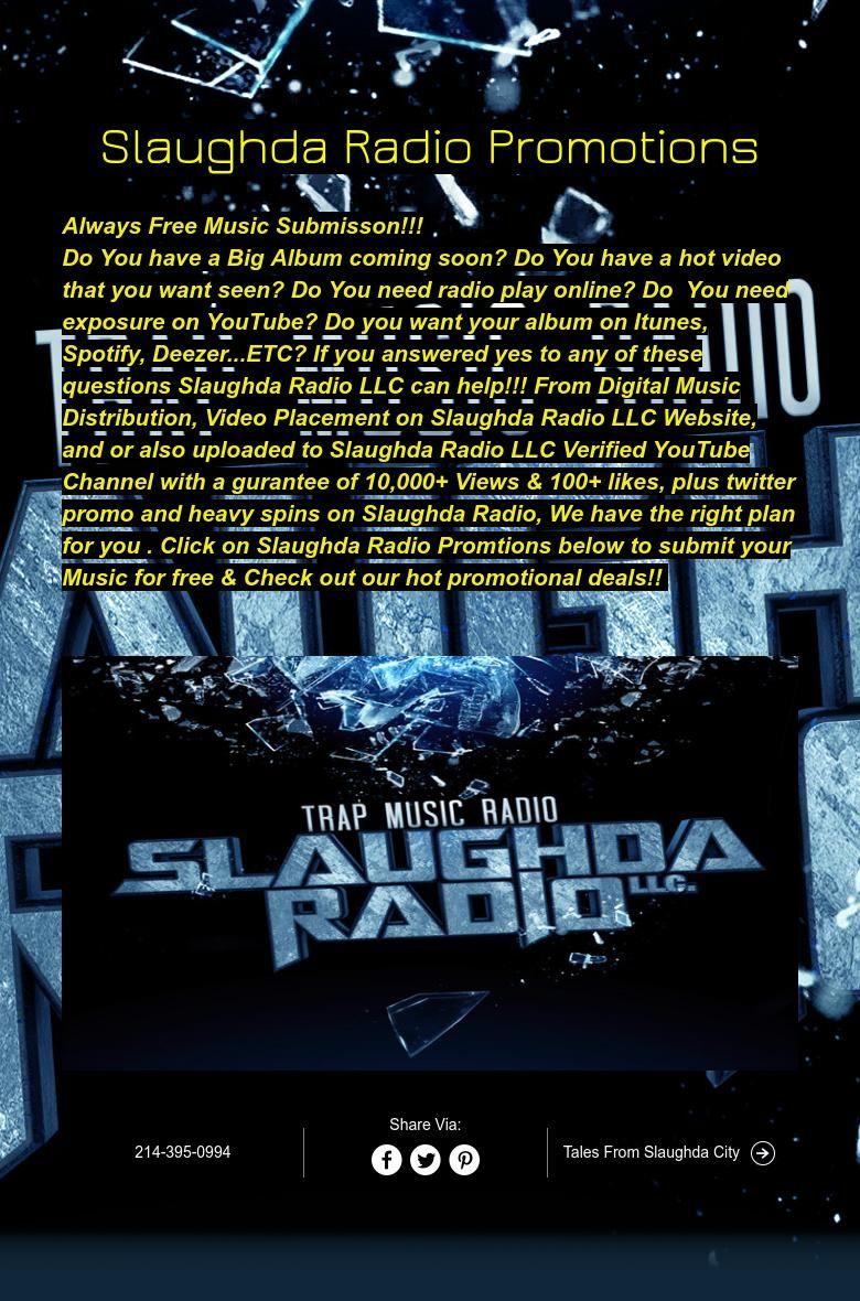 Slaughda Radio Promotions Radio play, Music radio, Play