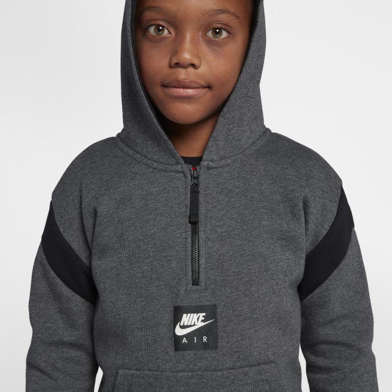 Air Older Kids' (Boys') Half Zip Hoodie | Zip hoodie