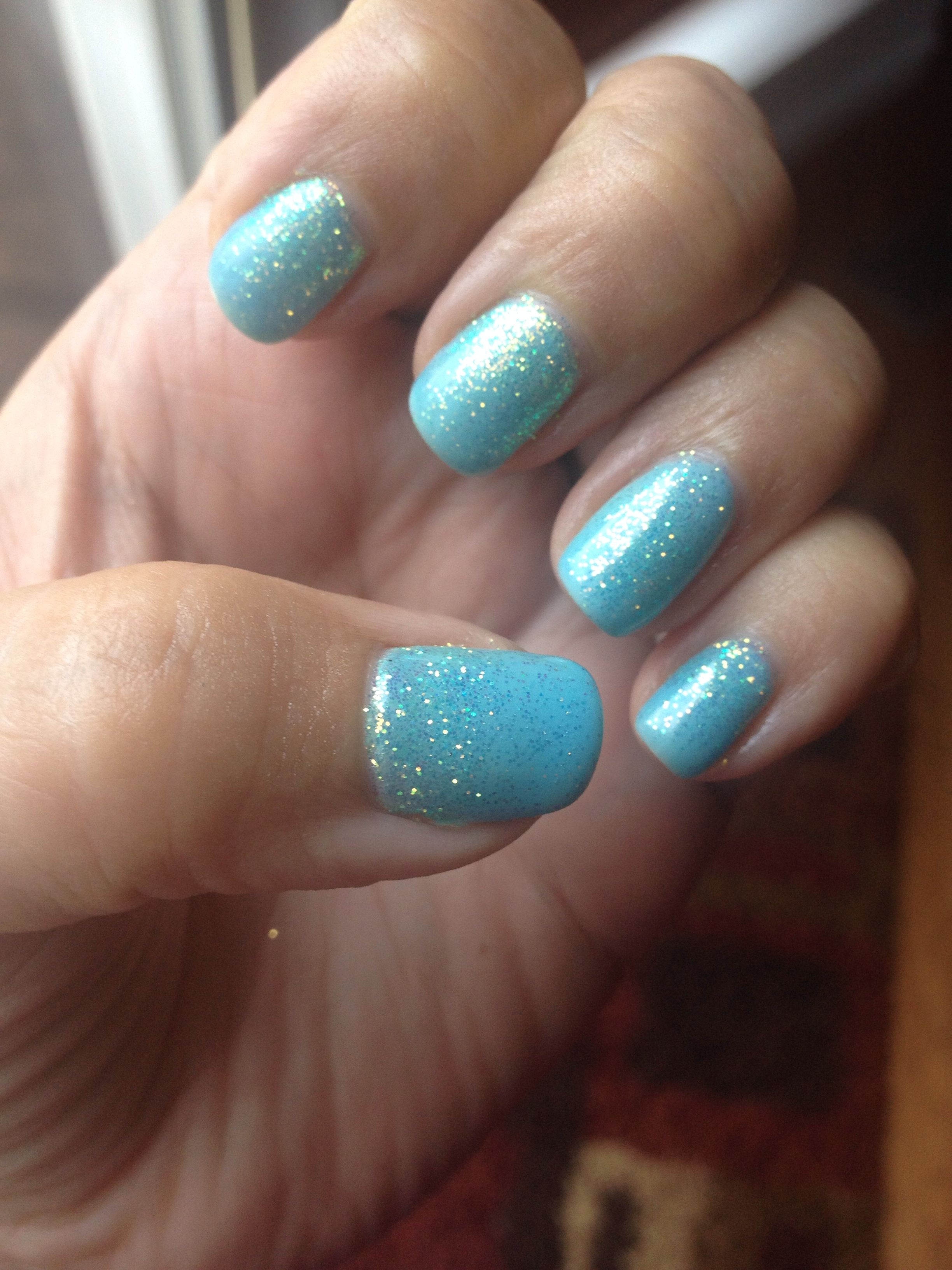 Cnd shellac tiffany blue made layering mint base azure for A david anthony salon