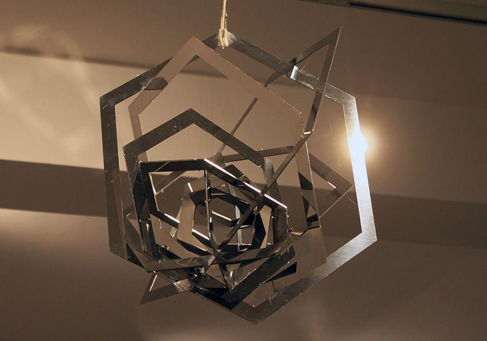 Spatial Construction (Hexagon) - Aleksandr Rodchenko [Models by Henry Milner]