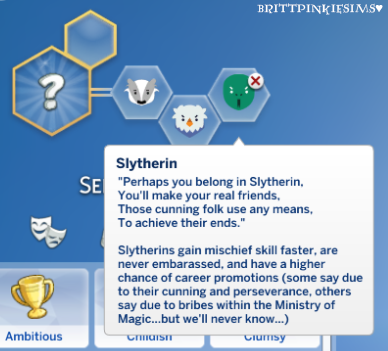 Brittpinkiesims The Sims 4 Harry Potter Mod Pack Part 2 Of 3 Sims 4 Sims 4 Challenges Sims 4 Traits
