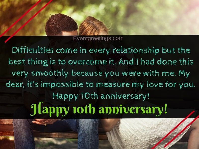 25 Exclusive Happy 10 Year Anniversary Quotes With Images 10 Year Anniversary Quotes Wedding Anniversary Quotes Anniversary Quotes For Husband