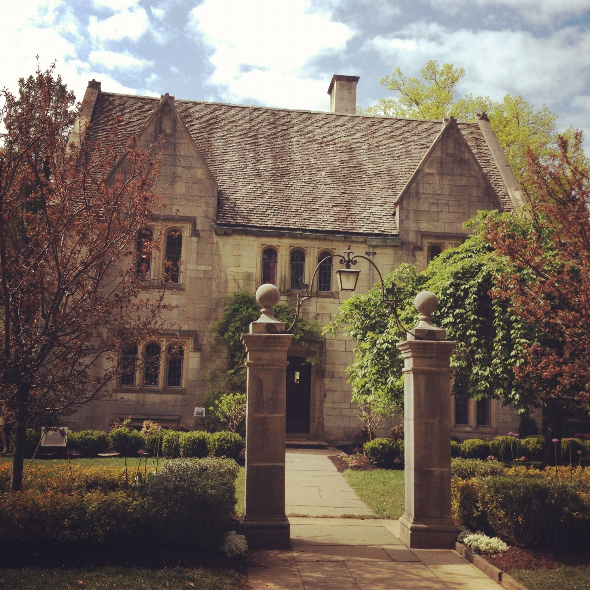 Princeton Court Apartments: The House Is Princeton's Very Own Little Castle....Priory