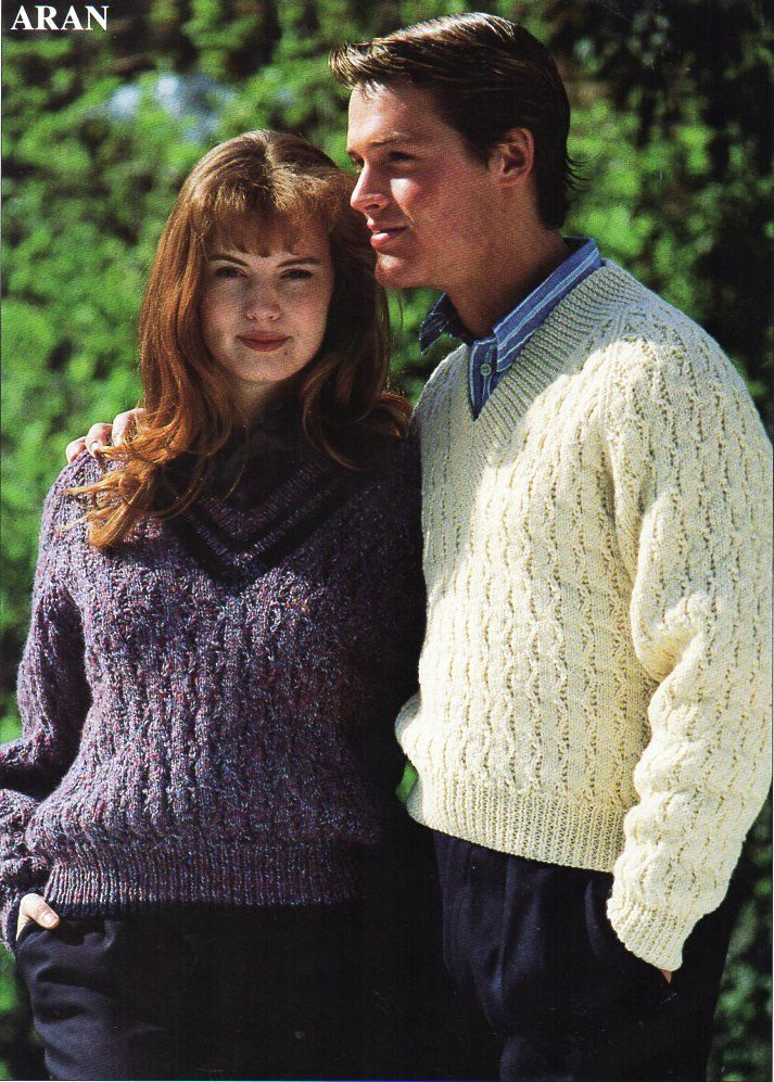 2ce67d122256b womens   mens cable sweater knitting pattern PDF ladies zig zag cable jumper  v neck unisex 30-44