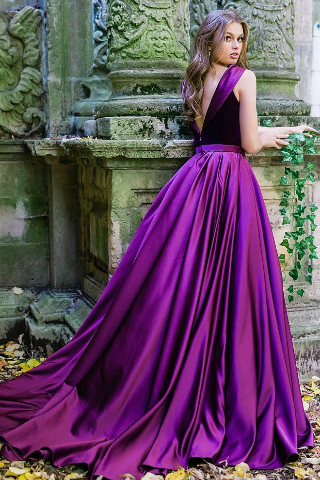 jovani 41319 #velvetdress #Jovani #fashion | VibRant VIOLET ...