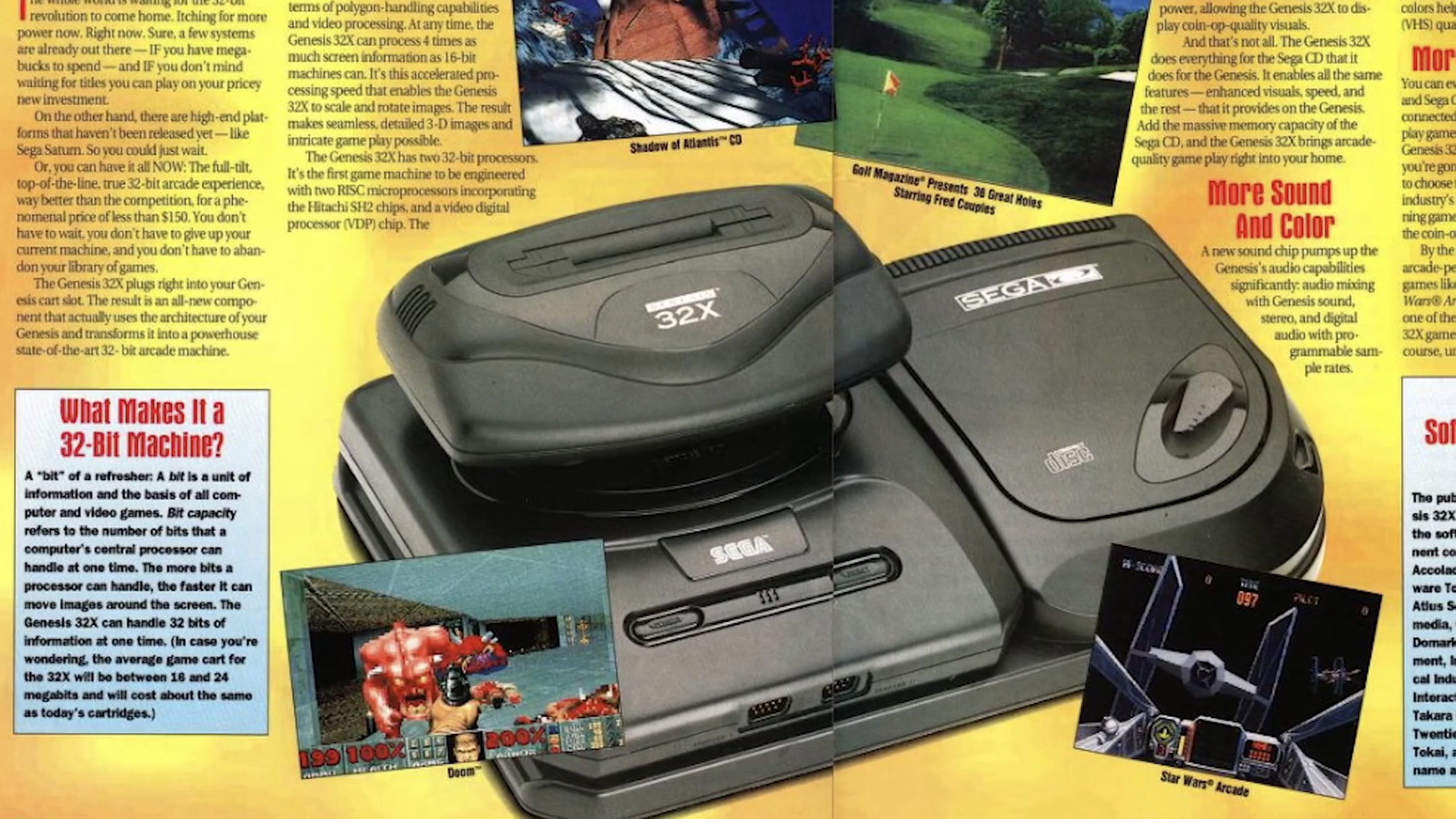 Console Magazine Sega 32x Sega Arcade Games Sega Saturn Video Games