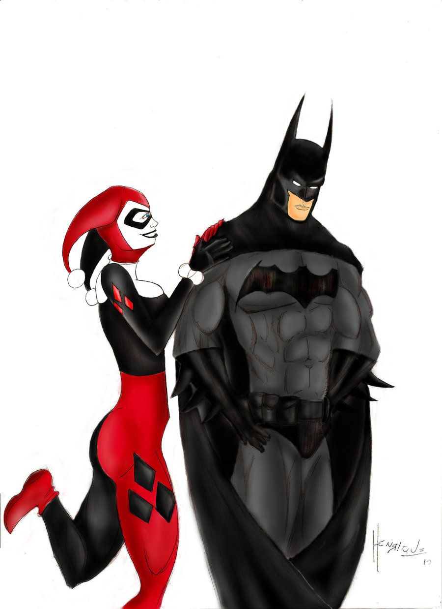 Batman harley quinn quite