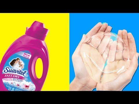 Haz Slime De Agua Probando Recetas De Water Slime Sin Borax Youtube Cómo Hacer Slime Slime Receta Como Hacer Slime Casero