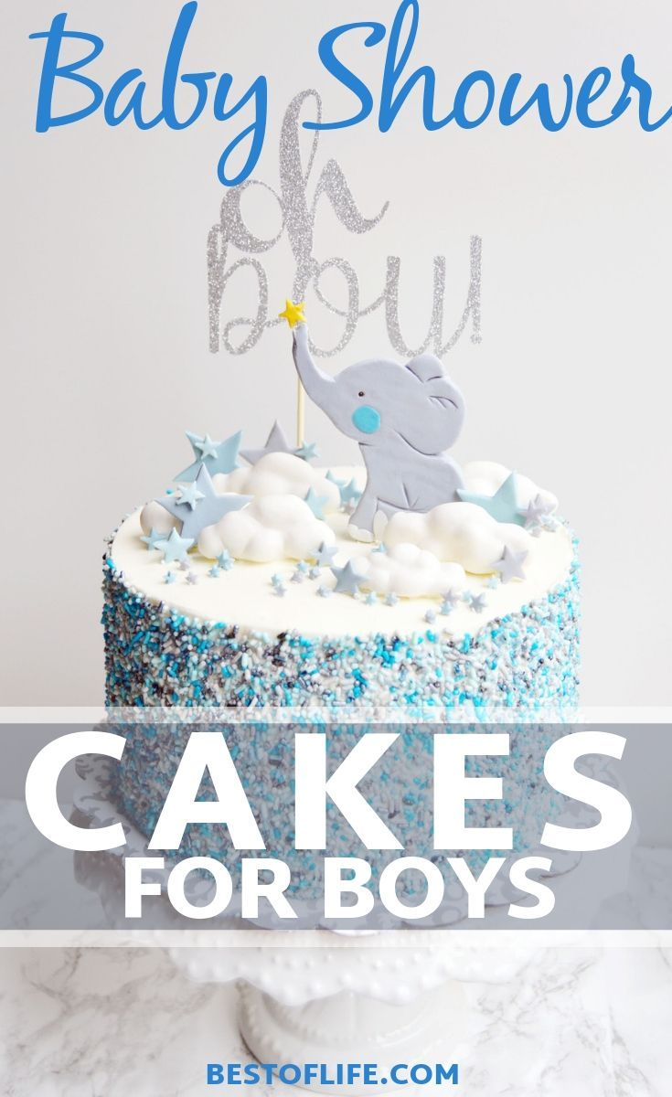 Baby shower cakes for boys the best of life baby