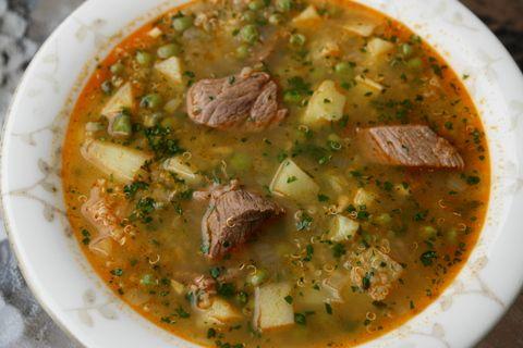 Sopa De Quinua Or Quinoa Soup Recipe Quinoa Soup Peruvian Recipes Ecuadorian Food
