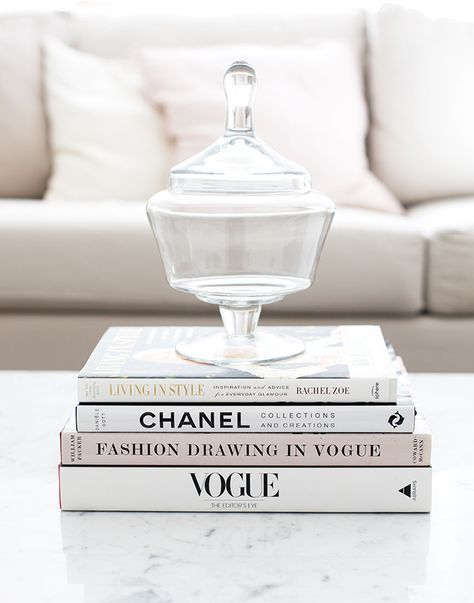 Fashion Inspiration Chanel Vogue Coffee Table Books In
