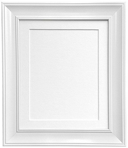 3535 Frames By Post Ap 4620 Vintage White Picture Photo Frame With