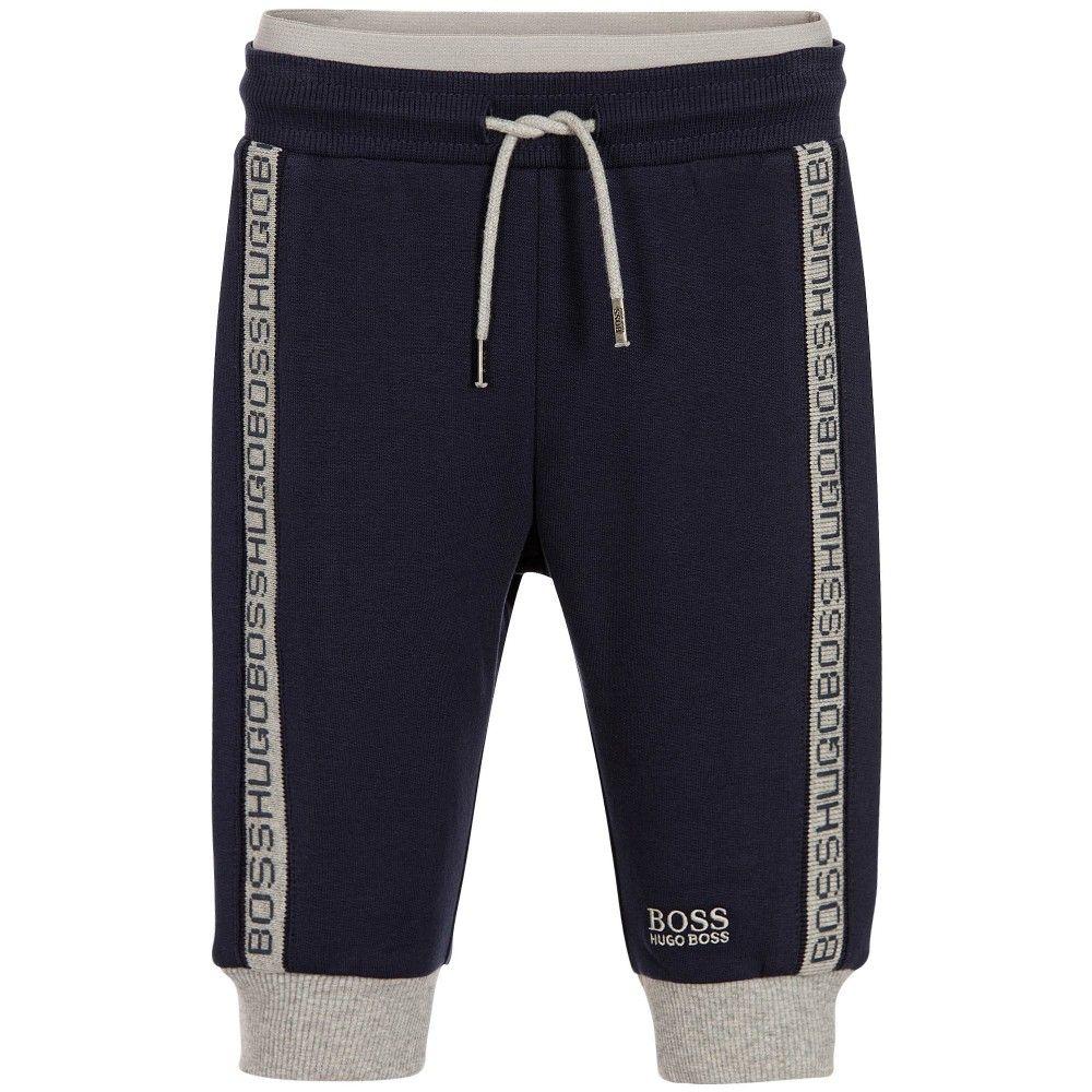5332301b5 BOSS - Baby Boys Blue Jersey Trousers