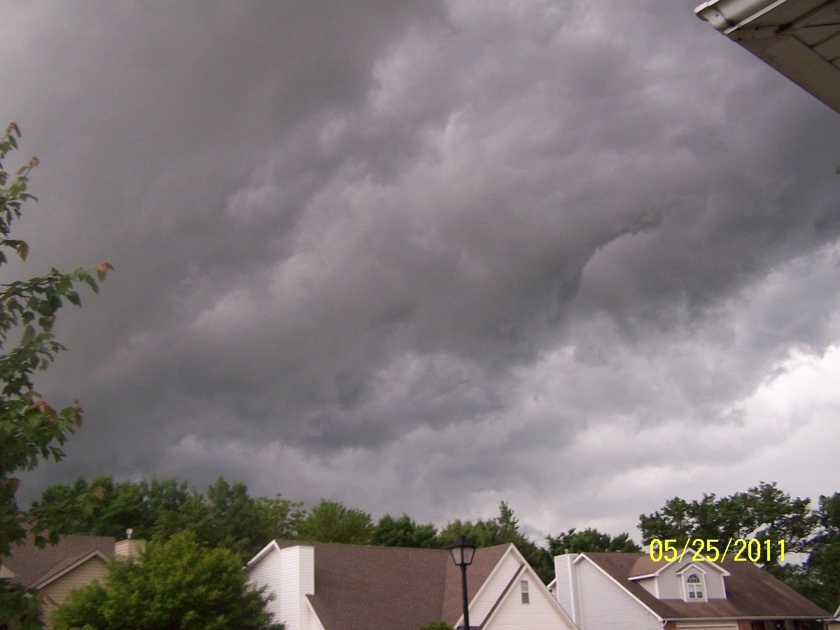 Storm Clouds; Columbia, Mo 5/25/2011