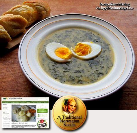 Wild Garlic Soup / Ramsløksuppe
