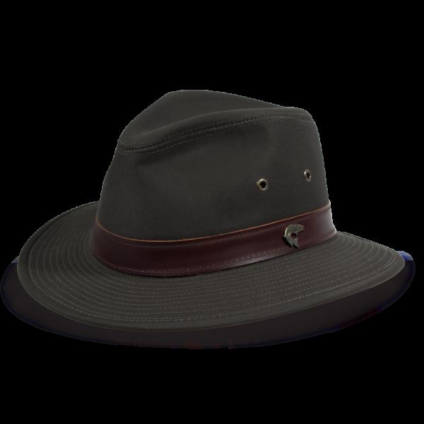2a6501c4b1f Florence Lake Cotton Fedora Hat