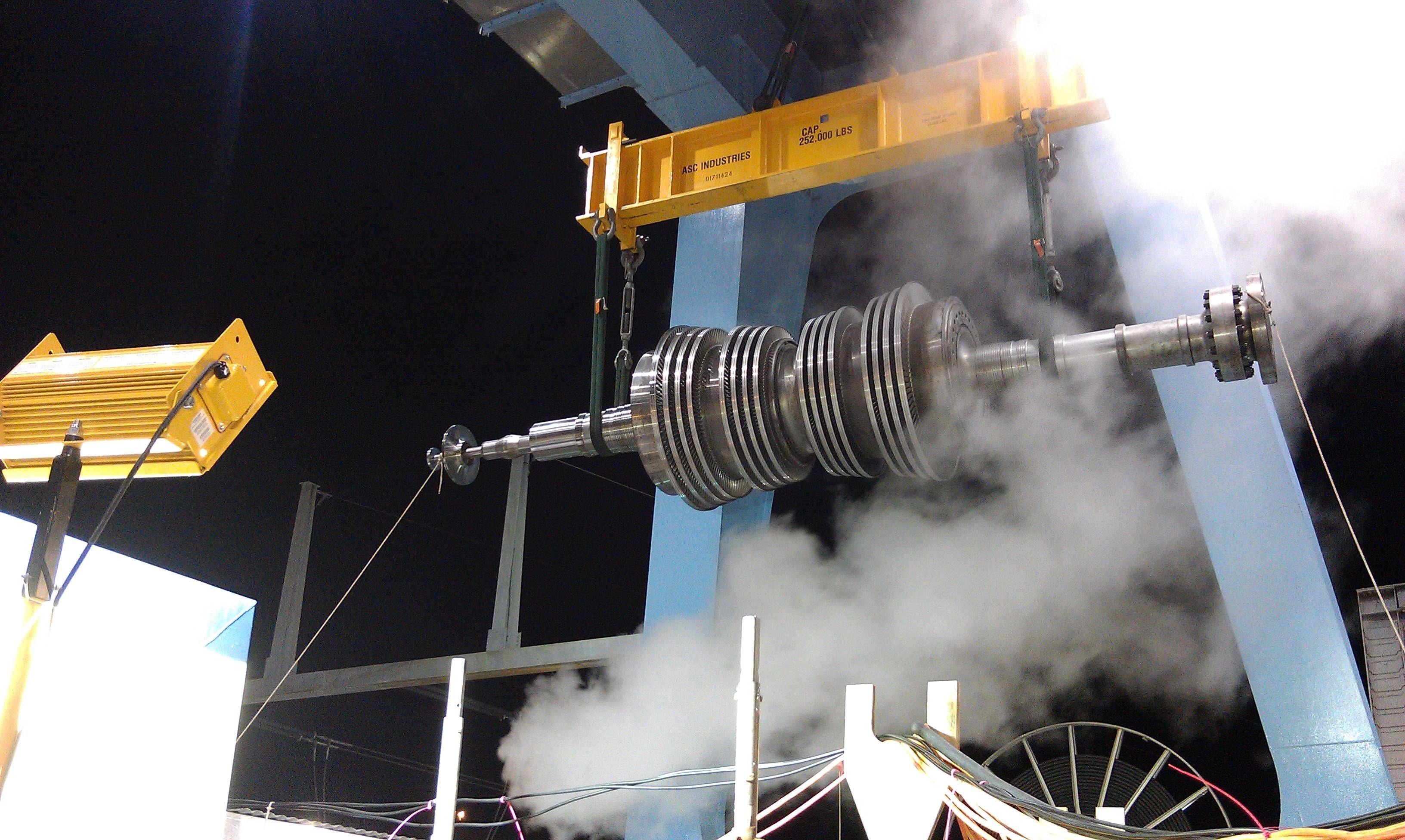 Nuclear steam turbine by Siemens