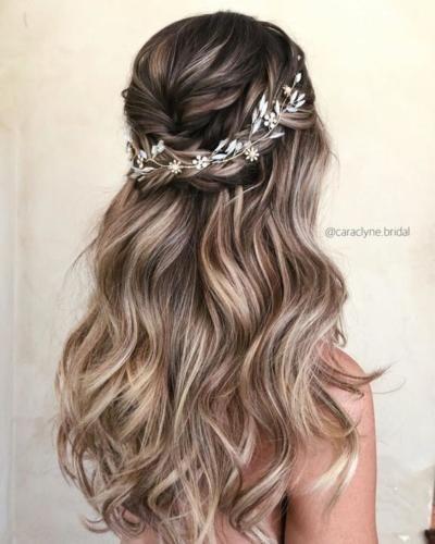 Penteados De Noivas Simples - Penteados natural