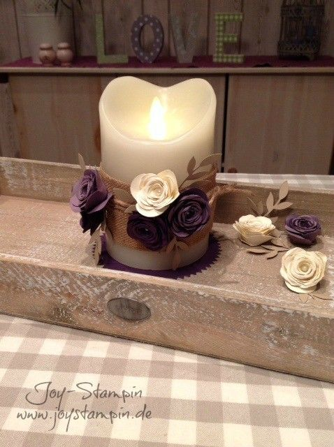 Lovely Kerzen Verschönern. Home DekoDiy ...
