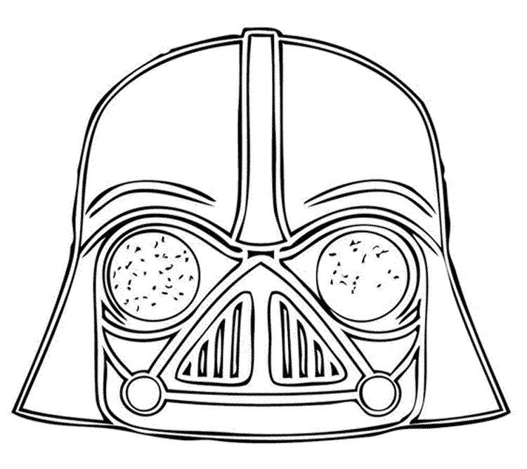 Angry Birds Star Wars Coloring Pages Darth Vader Angry Birds Star Wars Darth Vader