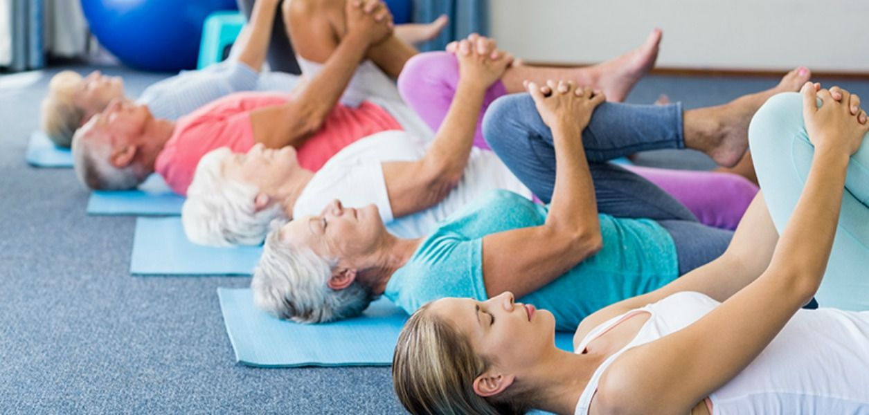 Yoga benefits for seniors.