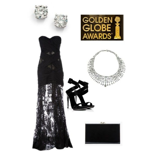 Golden Globes Look #1 by novelty718 on Polyvore