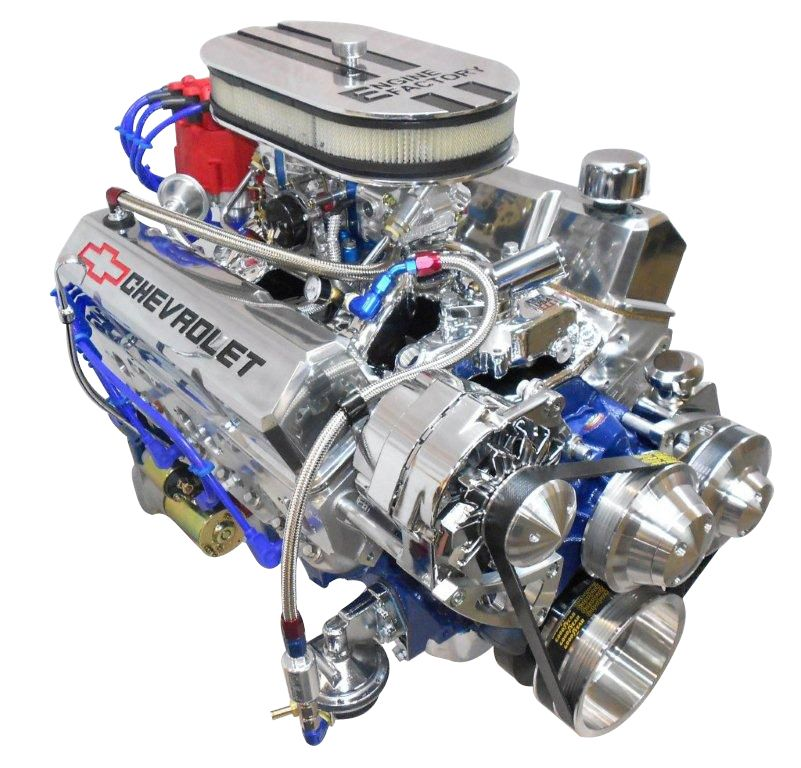 Chevy 350 Small Block With 430hp Http Enginefactory Com