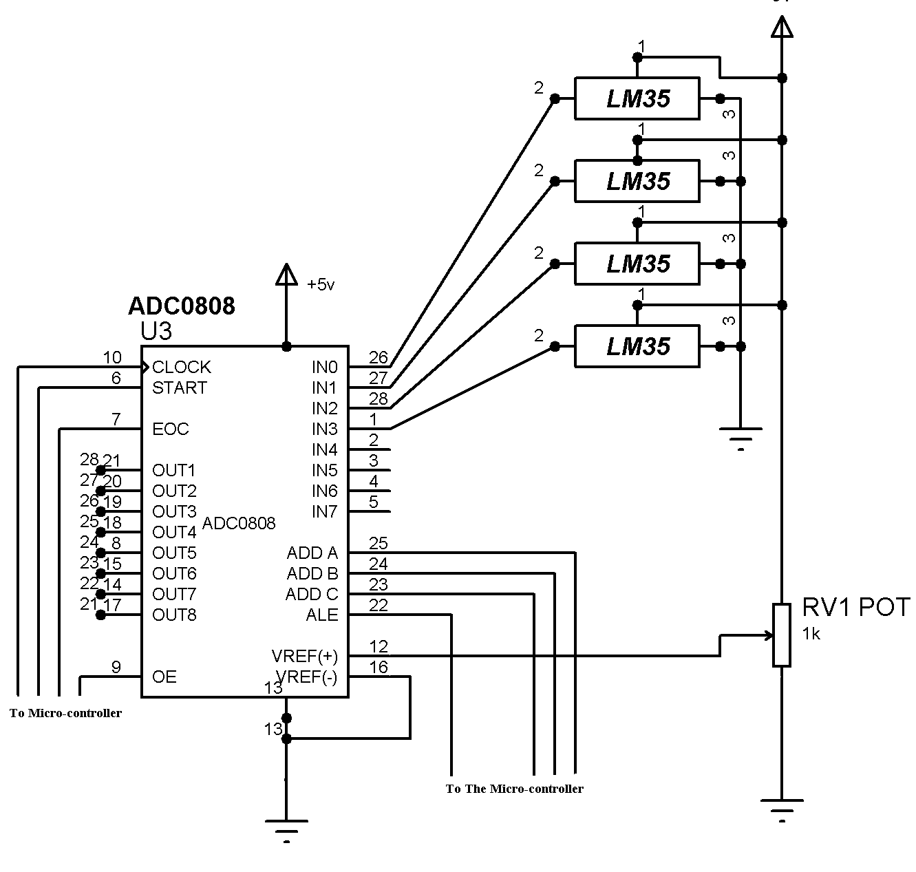 Adc0808 Features Specifications Application Electronics Rc Snubber Circuits Design Usage Basics Amp Projects