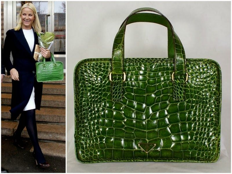 12 February 2014 Crown Princess Mette Marit's Prada Bag