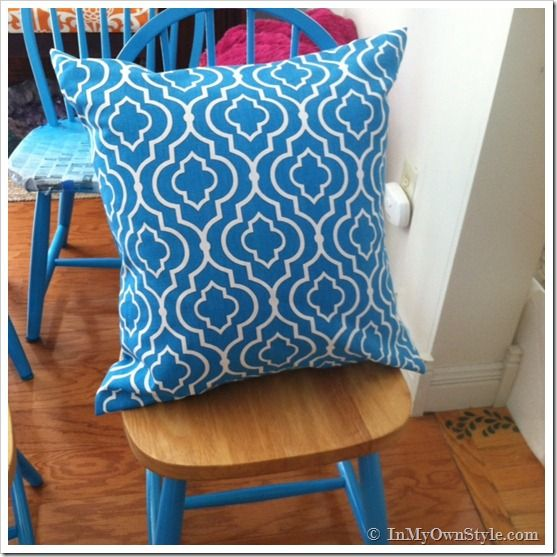 How To Make A Fabric Pillow Cover Without Using A Sewing Pattern Adorable How To Cover A Pillow With Fabric