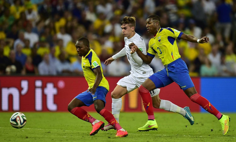 Francia 0 Ecuador 0 Ecuador, Francia