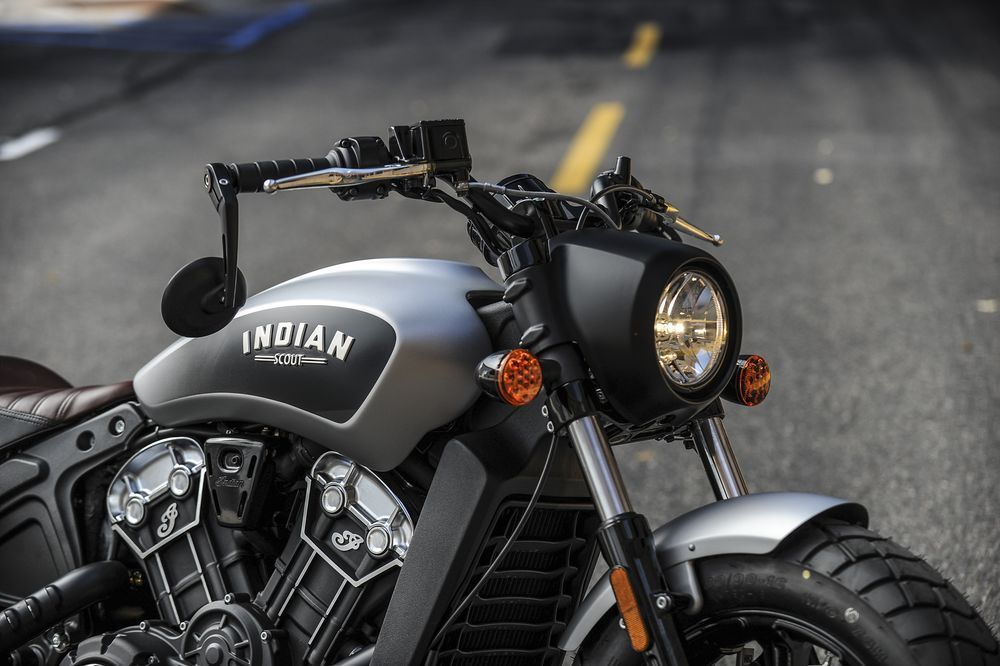 2018 Indian Scout Headlight Nacelle