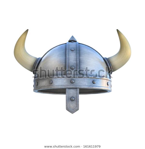 Viking Helmet Isolated Stock Illustration 161611979 Viking Helmet Stock Illustration Vikings