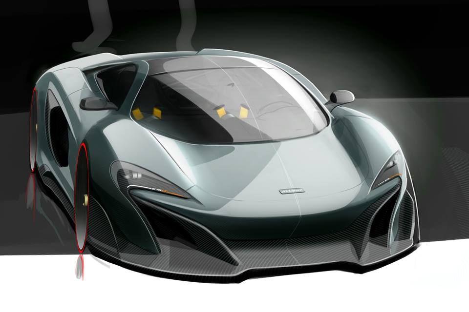 675LT Key Sketch By Esteban Palazzo Senior Designer At McLaren Design Studio | CarsSketches ...