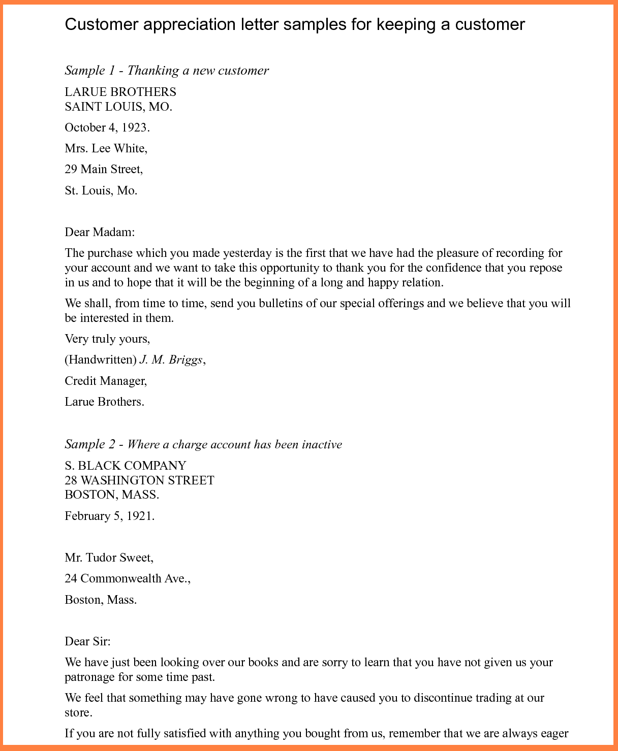 Letter thanks appreciation sample thank you letters free documents letter thanks appreciation sample thank you letters free documents download word aljukfo Images