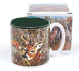 Deer In Forest Coffee Mug Mugs Deer Gifts Fathers Day Mugs
