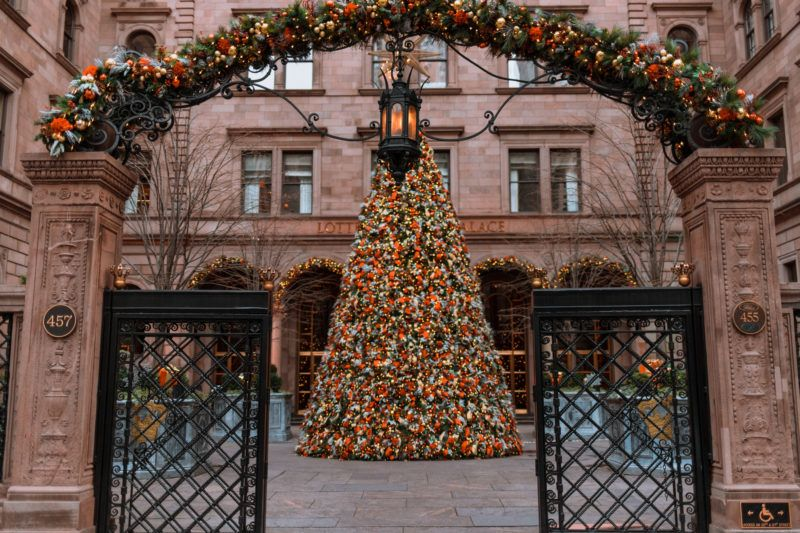 Image result for palace hotel christmas tree