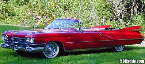 4 The Car I Would Drive 1959 Cadillac Convertible