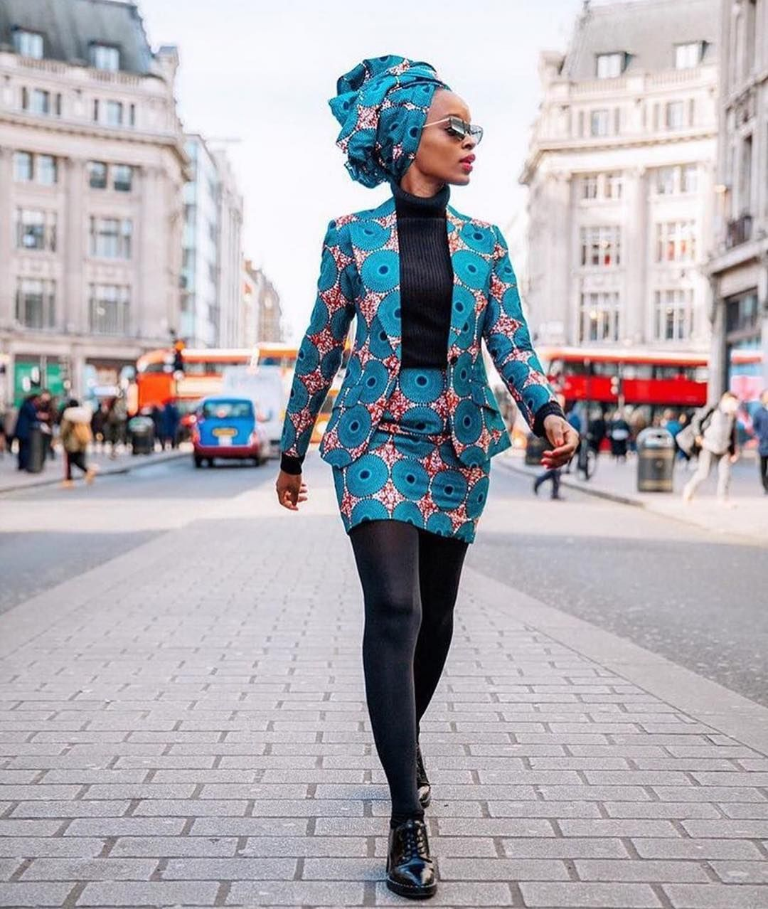 South African Doctor & Influencer @langamngoma strutted ...