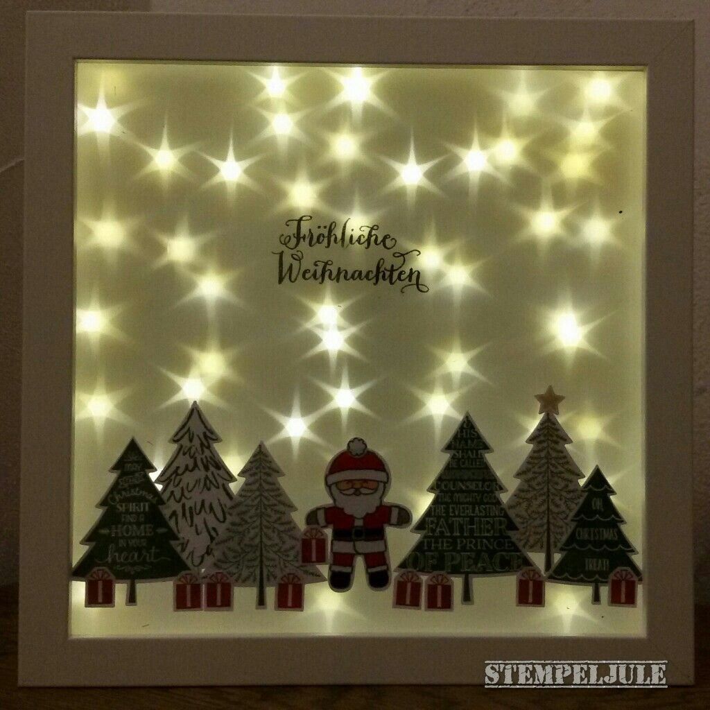 ikea rahmen hologrammfolie sterne stampin up peaceful pines ausgestochen weihnachtlich. Black Bedroom Furniture Sets. Home Design Ideas