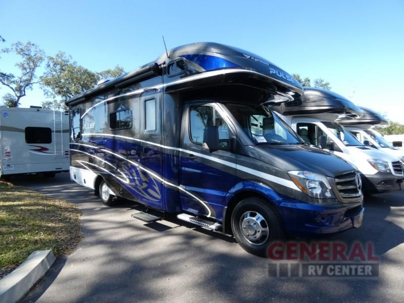 New 2018 Fleetwood Rv Pulse 24a Motor Home Class C Diesel At