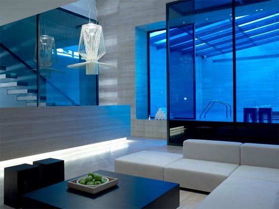 Clean Lines + Foscarini Light Modern Interior Furniture The Met Hotel  Project Reality By Zege Architects Pictures