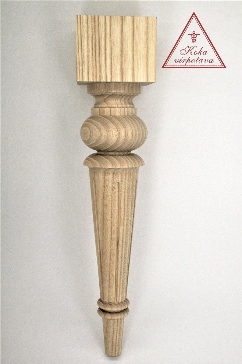 Coffee Table Leg Sofa Leg Chair Leg Wood Furniture Leg Etsy In 2020 Furniture Legs Wood Furniture Legs Coffee Table Legs