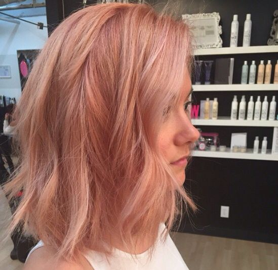 Strawberry Blonde With Images Hair Styles Gold Hair Hair