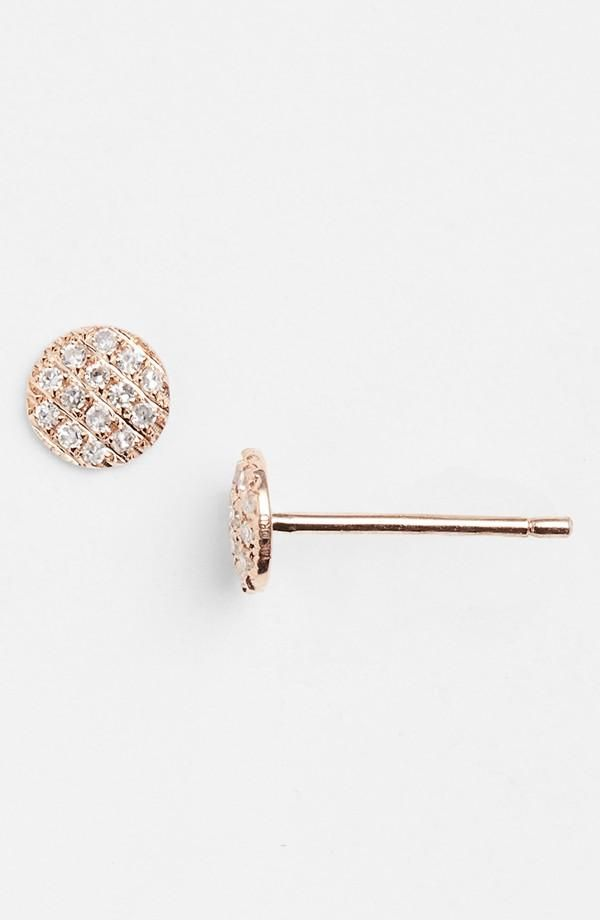 Sparkling Stud Earrings Dana Rebeccaaccessories