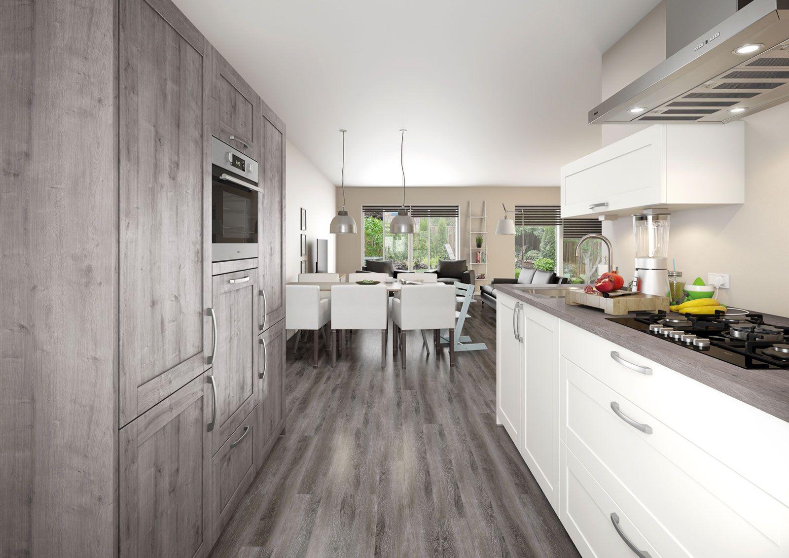 Is jouw interieur een mooie mix tussen eigentijds en landelijk dan past bruynzeel keuken atlas - Deco interieur eigentijds ...